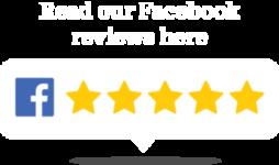 Customer reviews from Facebook